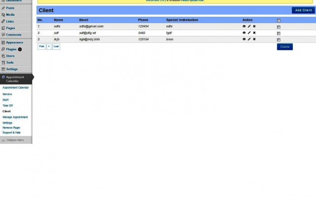 Client Database